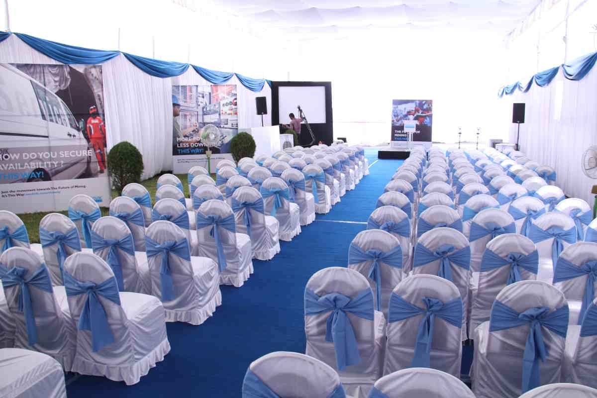 corporate event party decoration