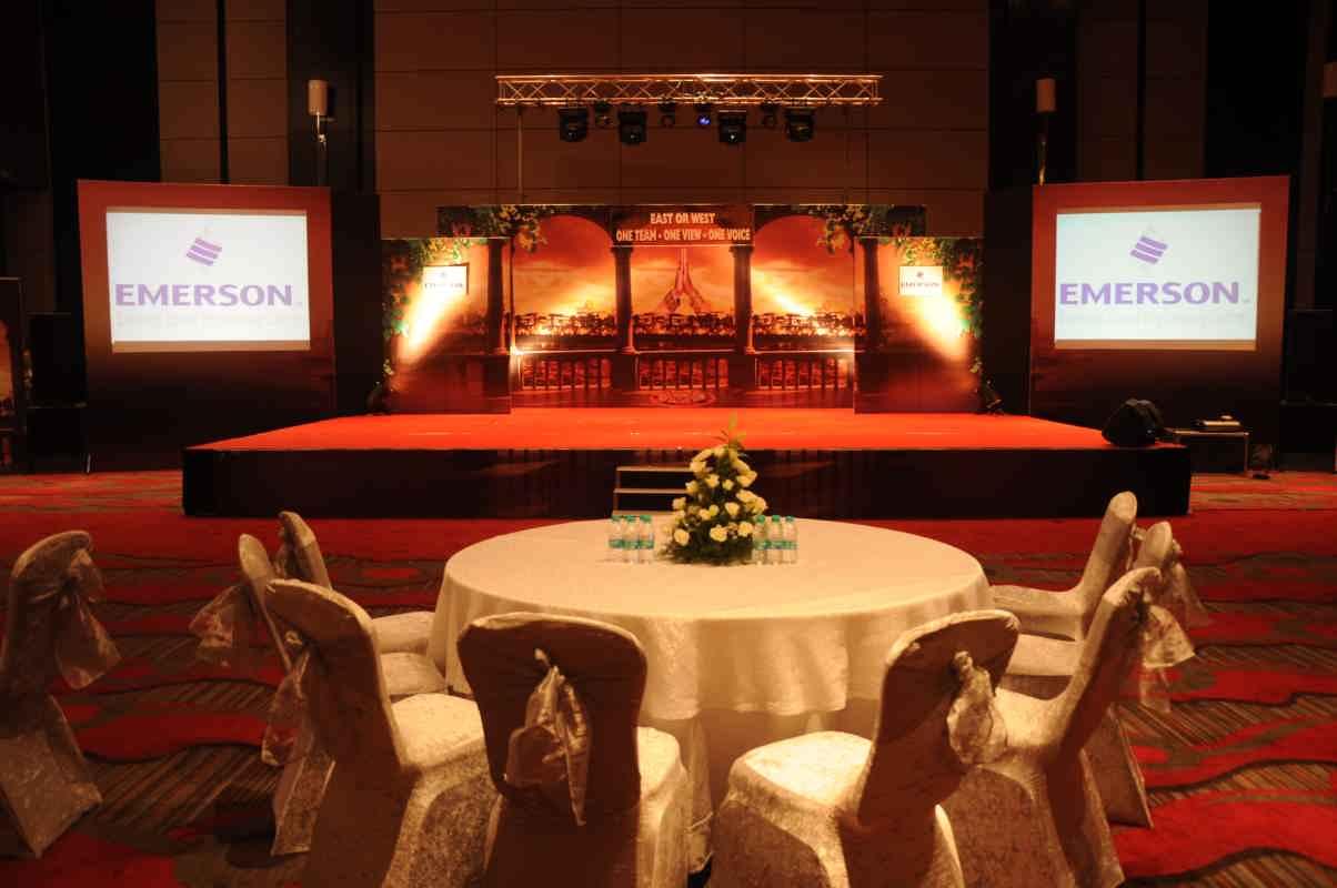 corporate event decoration