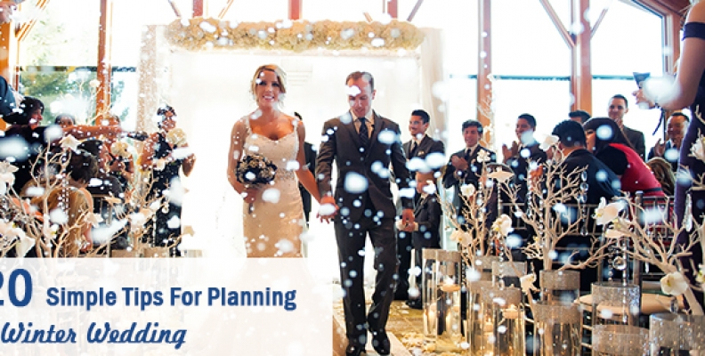 15 Simple Tips for Planning a Winter Wedding