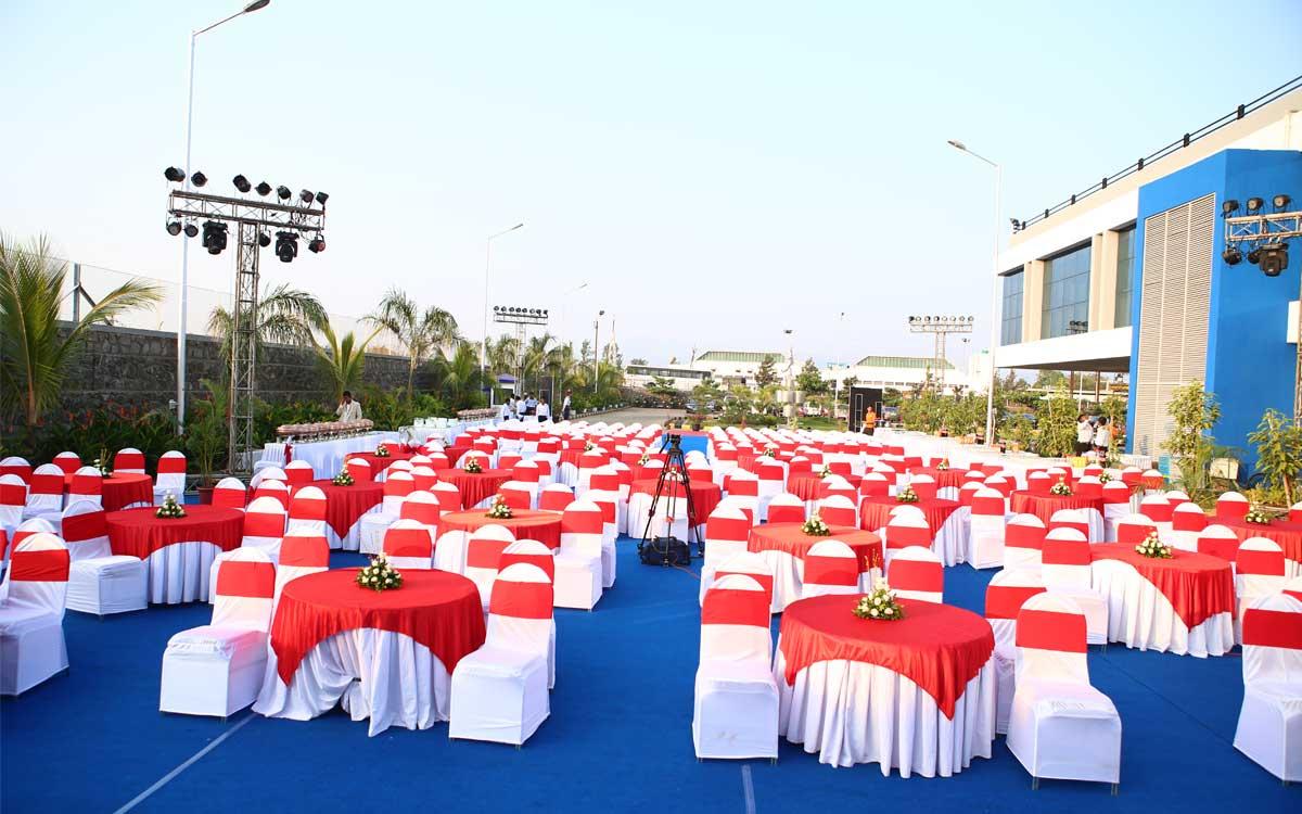 corporate event party decor