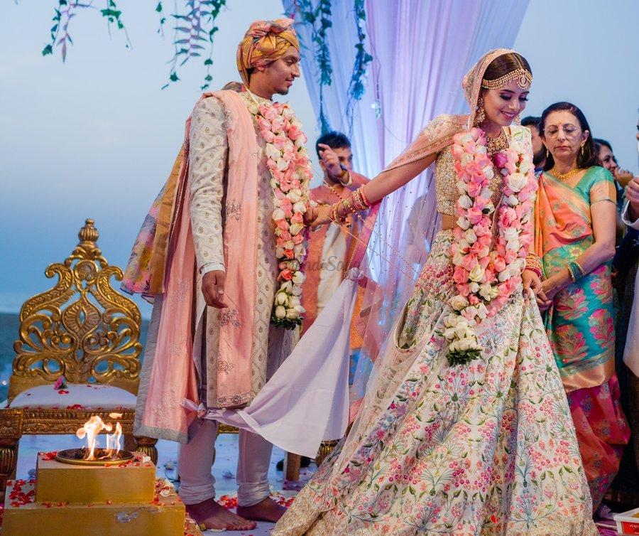 Saatphere or Saptapadi-The Wedding Vows in Indian Wedding - J & R Events