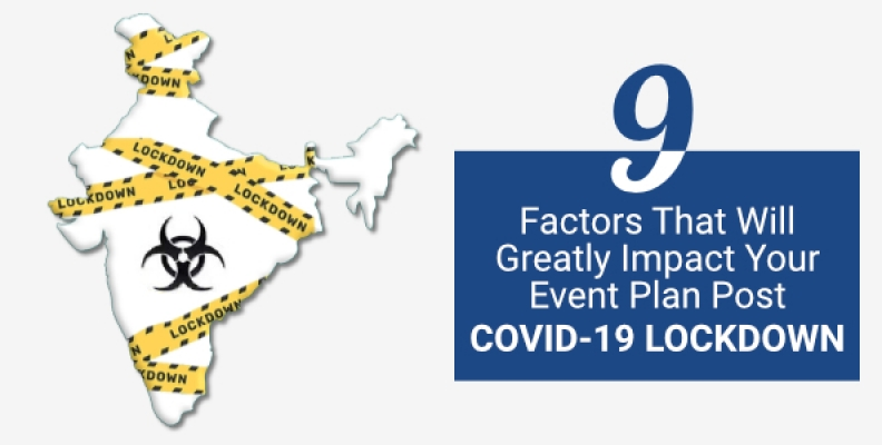 9 Factors That Will Greatly Impact Your Event Plan Post Covid-19 Lockdown